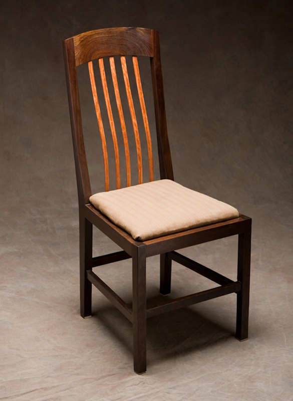 Chairs ron riedel custom furniture for Handcrafted furniture