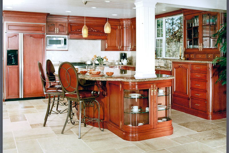 Kitchen cabinets ron riedel custom furniture for Custom kitchen remodeling
